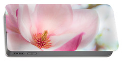 Pink Magnolia Portable Battery Charger