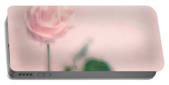 pink moments II Portable Battery Charger by Priska Wettstein