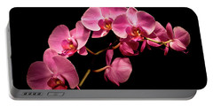 Pink Orchids 3 Portable Battery Charger