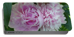 Pink Peonies 2 Portable Battery Charger