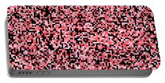 Pink Pixels Portable Battery Charger