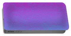 Pink Purple Blue Portable Battery Charger