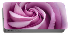 Pink Rose Folded To Perfection Portable Battery Charger