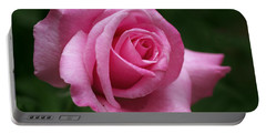 Pink Rose Perfection Portable Battery Charger