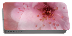 Pink Spring Blossom Portable Battery Charger