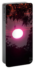 Pink Sunrise Breast Cancer Awareness Portable Battery Charger