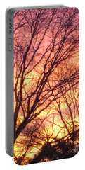 Pink Twilight Portable Battery Charger