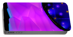 Pink Window To The Stars Portable Battery Charger