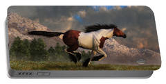 Pinto Mustang Galloping Portable Battery Charger