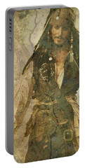 Pirate Johnny Depp - Steampunk Portable Battery Charger