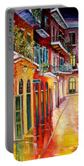 Pirates Alley By Night Portable Battery Charger