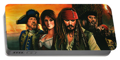 Pirates Of The Caribbean  Portable Battery Charger