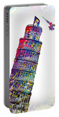 Pisa Tower  Portable Battery Charger