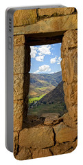 Pisac Ruins Portable Battery Charger by Alexey Stiop