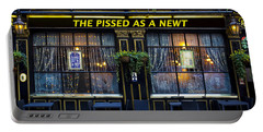 Pissed As A Newt Pub  Portable Battery Charger
