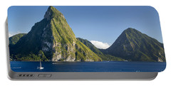 Pitons - St Lucia Portable Battery Charger