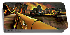 Pittsburgh Skyline Portable Battery Charger