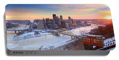 Pittsburgh Winter 2 Portable Battery Charger