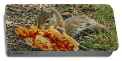 Pizza For  Lunch Portable Battery Charger