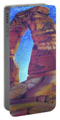 Portable Battery Charger featuring the painting Place Of Power by Joshua Morton
