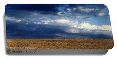 Portable Battery Charger featuring the photograph Plain Sky by Rodney Lee Williams