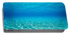 Plain Underwater Shot Portable Battery Charger
