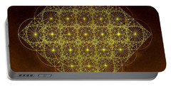 Planck Space Time  Portable Battery Charger by Jason Padgett