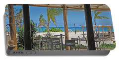 Playa Blanca Restaurant Bar Area Punta Cana Dominican Republic Portable Battery Charger