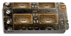 Playback Recording Vu Meters Grunge Portable Battery Charger
