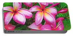 Plumeria After The Raiin Portable Battery Charger