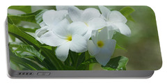 Plumeria - Tropical Flowers Portable Battery Charger
