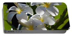 Portable Battery Charger featuring the photograph Plumeria's IIi by Robert Meanor