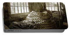 Plymouth Cordage Company Ropewalk Portable Battery Charger