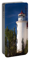 Point Betsie Lighthouse Michigan Portable Battery Charger
