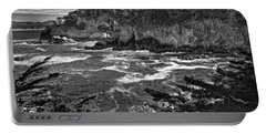 Portable Battery Charger featuring the photograph Point Lobo  by Ron White