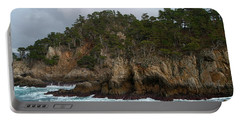 Point Lobos Coastal View Portable Battery Charger