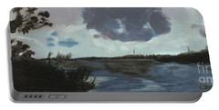 Pointe Aux Chein Blue Skies Portable Battery Charger