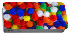 Pom Poms Portable Battery Charger