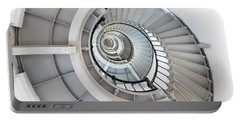 Ponce De Leon Inlet Lighthouse Staircase Portable Battery Charger