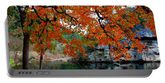 Fall At Lost Maples State Natural Area Portable Battery Charger