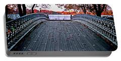 Pond Footbridge Portable Battery Charger