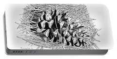 Ponderosa Pine Cone Portable Battery Charger