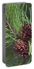 Ponderosa Pine Cones Portable Battery Charger