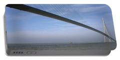 Pont De Normandy Normandy France Portable Battery Charger