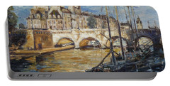 Pont Neuf Paris Portable Battery Charger
