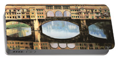 Ponte Vecchio A Firenze Portable Battery Charger