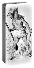 Pontiac, Odawa War Chief Portable Battery Charger