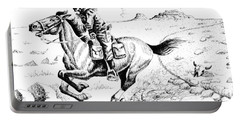 Pony Express Rider Portable Battery Charger