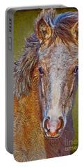 Pony Portrait  Portable Battery Charger