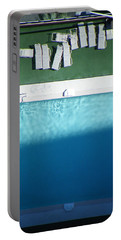 Poolside Upside Portable Battery Charger by Brian Boyle
